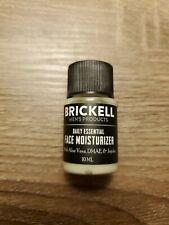 Brickell Men's Daily Essential Face Moisturizer 10 mL Travel Mini Sample Sealed