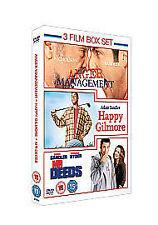 Anger Management / Mr Deeds / Happy Gilmore (DVD, 2010)