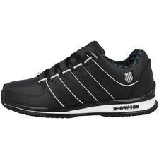 K-Swiss Rinzler SP Schuhe Freizeit Sport Leder Sneaker black white 02283-046