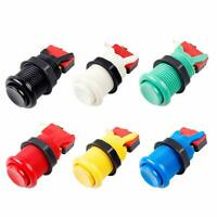 6X Happ Type Standard Push Buttons with Micro Switch ( Each Colour of 1 Piece )