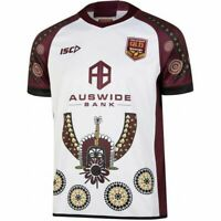 Queensland Maroons State of Origin 2019 Indigenous Jersey Sizes S-7XL!