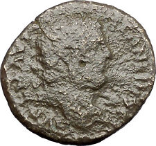 CARACALLA Serdica in Thrace Ancient Roman Coin Tyche Fortuna Luck Cult  i48221