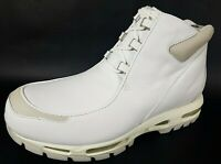 Nike Air Max Transpose Mens Boots Hiking Leather White Outdoor 648049 101