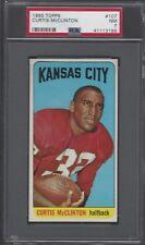 PSA 7 - 1965 Topps #107 Curtis McClinton SP Kansas City Chiefs