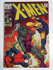 X-Men #53, 1st Barry Windsor-Smith art, Origin of The Beast, Fine 6.0