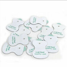 50 PCS Snap On Replacement Electrode Pads Cable For Digital Tens Unit Therapy