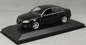 Minichamps Maxichamps Audi A4 Saloon in Black 2004 940014400 1/43 NEW
