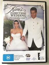 Kim's Fairytale Wedding A Kardashian Event DVD Free Postage