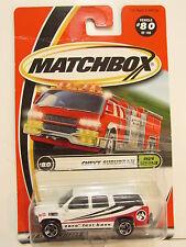 MATCHBOX 2000 #80 OF 100 CHEVROLET SUBURBAN - SHOW EXPLORER