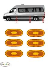 MERCEDES SPRINTER W906 2006-2013 6X NEW SIDE MARKER LIGHT LAMPS LEFT OR RIGHT