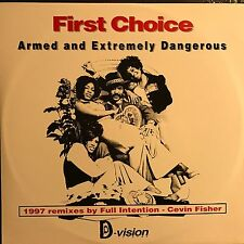 FIRST CHOICE • Armed AND Extremely Dangerous • Vinile 12 Mix • DV 178