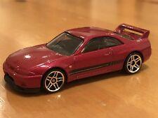 HOT WHEELS LIMITED EDITION NISSAN SKYLINE GT-R R33 LOOSE