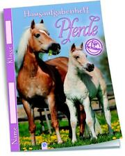 Pferde Hausaufgabenheft 1-6 klasse Grundschule