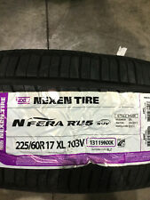 1 New 225 60 17 Nexen N'Fera RU5 Tire
