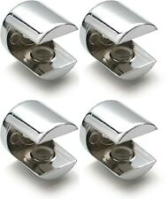 Glass Shelf Support Bracket Brackets - Polished Chrome For 5mm Thick Shelves