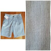 "New DOCKERS Men's 38 36 33 30 Perfect Shorts 9.5"" Mini Stripes Classic Fit $48"