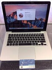 Apple MacBook Pro 13-inch Early 2011 i7 500Gb HDD 8GB Upgraded