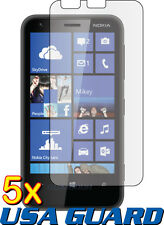5x Clear LCD Screen Protector Guard Shield Cover Protective Film Nokia Lumia 620