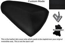 BLACK STITCH CUSTOM FITS APRILIA RSV MILLE 98-00 REAR PILLION SEAT COVER