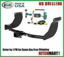 "2010-2013  Ford Transit Connect Class 3 Curt Trailer Hitch & Wiring Pkg  2"" Tow"