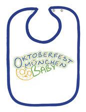 (08455) Babero de Calidad Babero Oktoberfest Munich Bebé