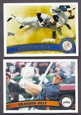 2011 TOPPS SERIES 1 & 2 LOT COMPLETE YOUR SET WITH 20 PICKS