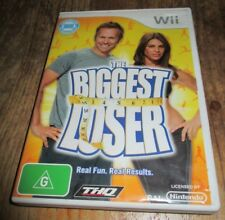 ~ THE BIGGEST LOSER ~ NINTENDO WII/WII U GAME ~ WITH INSTRUCTION BOOK ~