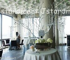 Acrylic Crystal Garland Hanging Bead Interchangeable Wedding Decor 18 feet