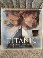 Titanic Laserdisc DiCaprio Winslet Widescreen Edition THX Dolby Digital Sealed