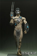 """PHICEN 1/6 Scale Men's Impartial Fork Suit F 12"""" Male Body Model Toy"""