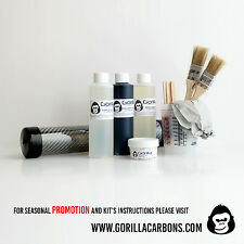 Gorilla carbonworksTM real carbon fiber skinning starter kit