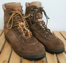 VTG ASOLO AFS Ridge Men's 11.5 Italy Vibram Suede Mountaineering Hiking Boots