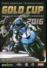 STEVE HENSHAW INTERNATIONAL GOLD CUP ROAD RACES OLIVER'S SCARBOROUGH 2016 DVD