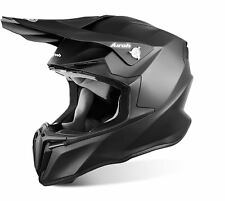 AIROH 2017 CASCO HELMET TWIST NERO OPACO BLACK MATT MOTO CROSS ENDURO TG L