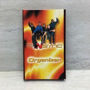 Vintage NOS 2000 NSYNC 3-Fold Organizer with Notepad, Diary & Address Book