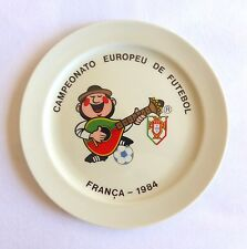 Rare PORTUGAL NATIONAL TEAM EURO 1984 in France dish VISTA ALEGRE numered