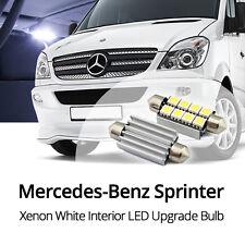Mercedes Benz Sprinter Interior LED Light Bulb Upgrade *Xenon White*