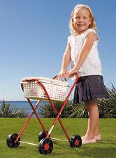 NEW Orbit Pegs N Play Childrens Galvanised Metal Clothes Trolley & Basket