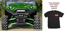 SuperATV Kawasaki Teryx AND Teryx 4 Diamond Plate Front Bumper