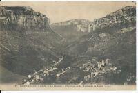 CPA 48  - GORGES DU TARN - Le Rozier - Peyrelau et la Vallée de la Jonte