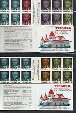 TONGA/1988/MNH/SC#LOT #1/CORONATION KING TAUFA ´AHUA 20TH ANNIV /BOOKLETS (2)
