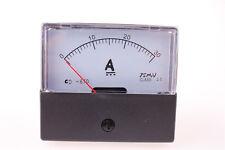Analog Amp Panel Meter Current Ammeter DC 0-30A 1PCS
