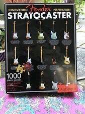 Fender Stratocaster Guitar 1000-piece jigsaw puzzle used