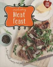 NEW Casual Cooking: Meat Feast By Parragon Free Shipping