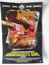JODOROWSKY'S DUNE  H.R GIGER  DOCUMENTARY SMALL MOVIE POSTER 15 by 21