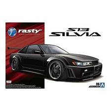 1/24 AOSHIMA 005098 RASTY PS13 SILVIA (NISSAN) Plastic Model Car Kit