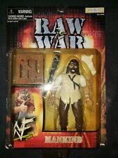 WWF Mankind 1999 Raw is War action figure NIP NIB Jakks Pacific Mick Foley