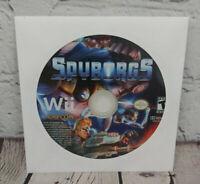 Spyborgs (Nintendo Wii, 2009) Video Game Disc