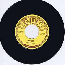 LITTLE JUNIOR PARKER - FEELIN' GOOD (Top 10 SUN label BLUES Bopper) ROCKABILLY