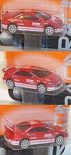 MAJORETTE 212084008 PEUGEOT 307 WRC (N. 206d) Rosso Rally Monte Carlo/5 1:58